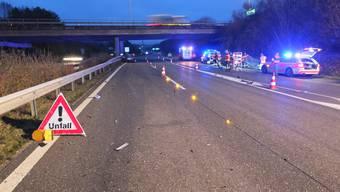 Mörschwil: Unfall auf der Autobahn fordert drei Verletzte