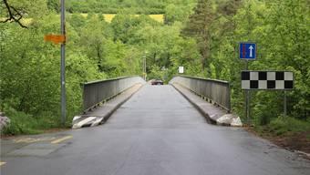Zwischen Rupperswil und Auenstein führt die Kantonsstrasse über zwei Brücken (Aarelauf und Unterwasserkanal). Parallel sollen neue Brücken gebaut werden.