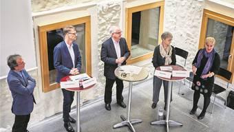 Podiumsdiskussion in Wohlen über die Abschaffung der Schulpflege