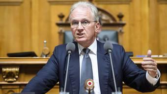 Theoretisch könnte Hans-Ulrich Bigler durch seine Abwahl einen Überbrückungsbetrag bei der Bundesverwaltung beantragen.