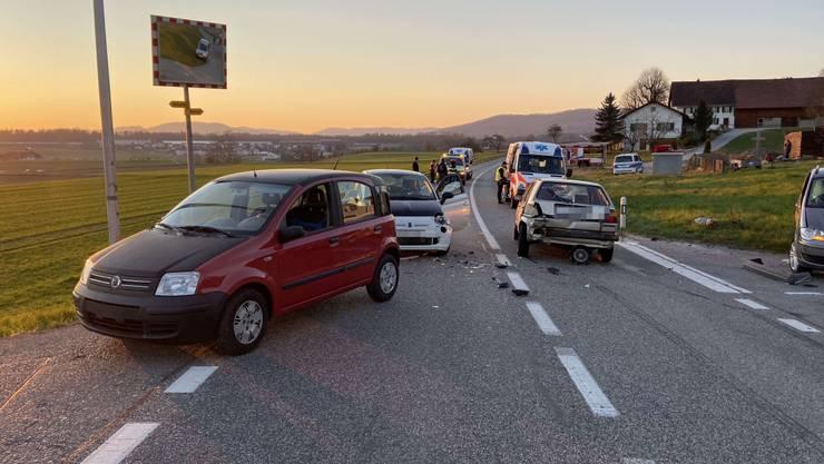Der Unfall passierte am Mittwochabend.