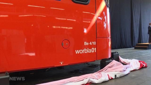 """Neue RBS-Züge: """"Mandarinli"""" heisst jetzt """"Worbla"""""""