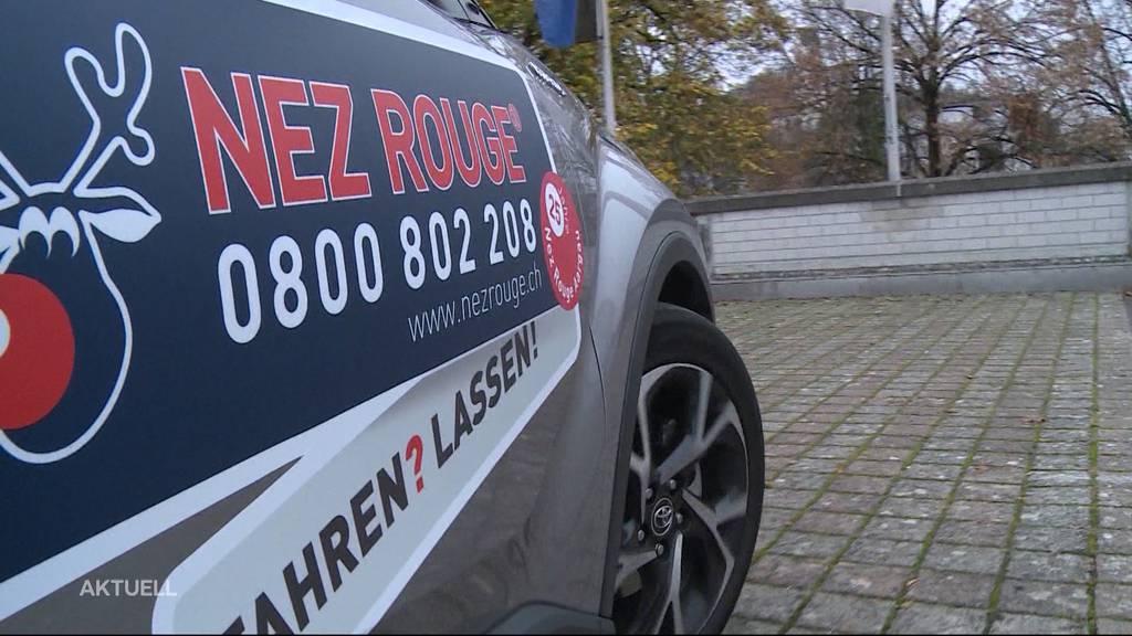 «Promille-Taxi» fällt aus: Nez Rouge fährt dieses Jahr nicht