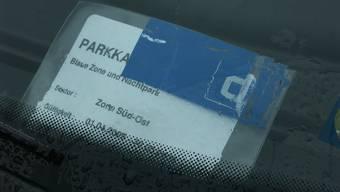 Parkkarte (Symbolbild).