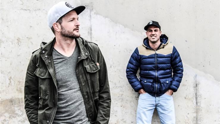Das Berner Duo Kaiser&Dimitri ist eine etablierte Rap-Grösse. Franziska Reusser