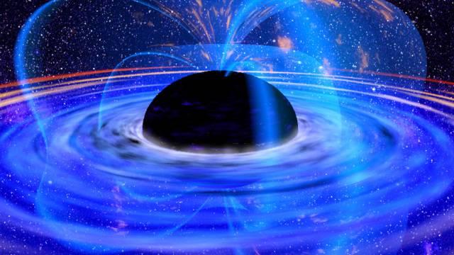 Schwarzes Loch im Herzen der Galaxie MCG 6-30-15 (Symbolbild)