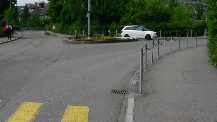 Die Etzelstrasse (links) soll aufgehoben werden. DM