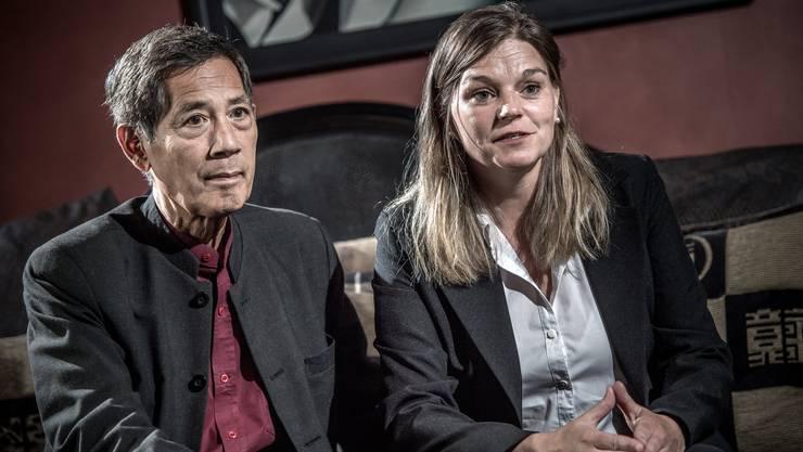 Sucharit Bhakdi und seine Frau Karina Reiss.
