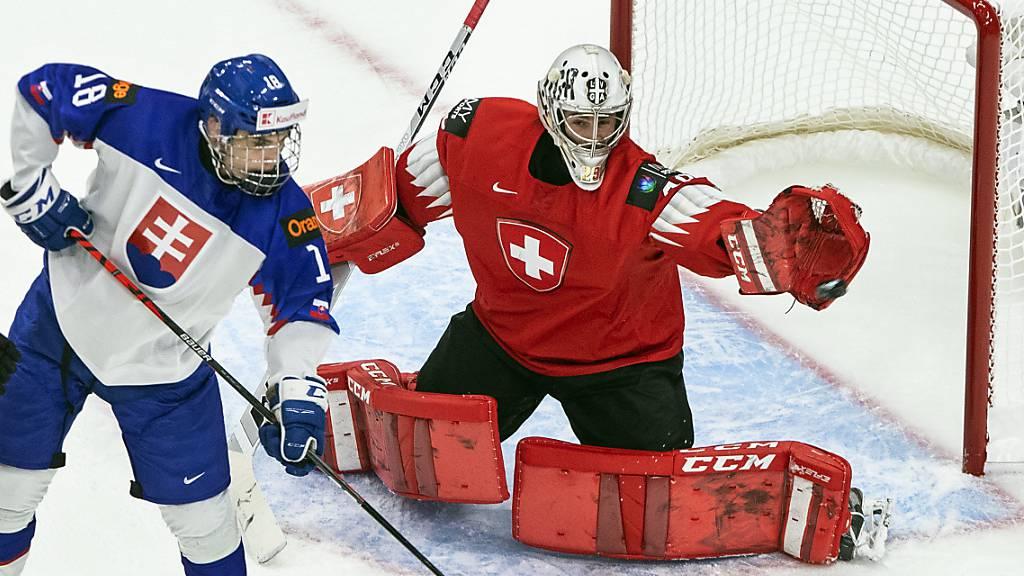 Die Schweizer verlieren trotz starker Leistung von Goalie Thibault Fatton