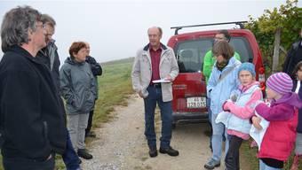 Landwirt Peter Schödler liefert Zahlen und Fakten zu seinem Betrieb.