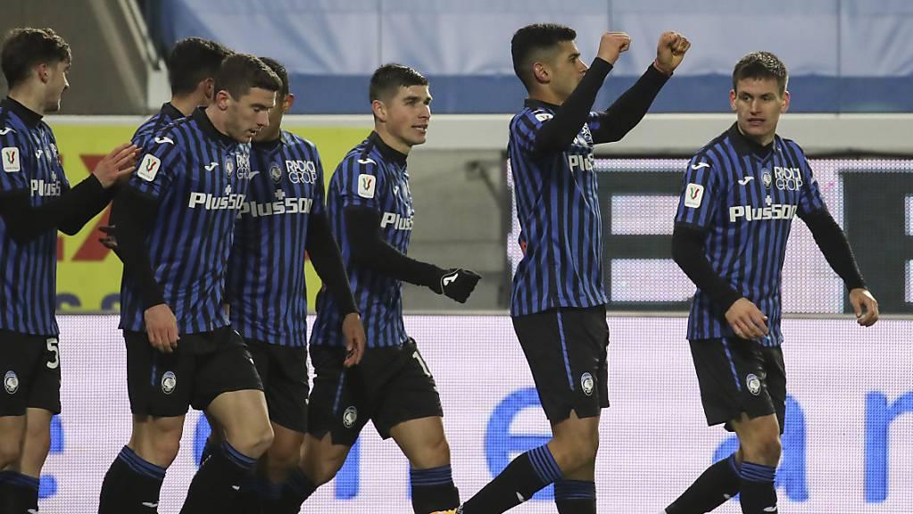Atalanta jubelt gegen Lazio.