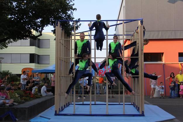 Zapfenstreich Windisch auf dem Festplatz Dohlenzelg mit den Climbers.