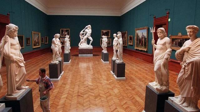 Blick auf einen Ausstellungsraum der Villa Giulia (Archiv)