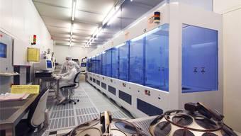 Die Halbleiterproduktion der ABB in Lenzburg erfordert sterile Arbeitsräume. ABB