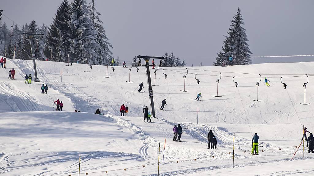 Luzerner Skigebiete können ab Montag täglich öffnen