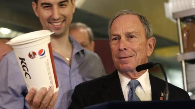 Bürgermeister Bloomberg spricht von kurzem Rückschlag