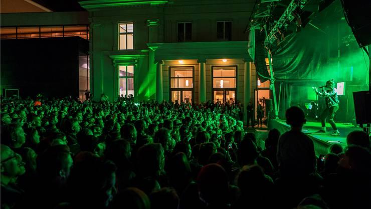 Einen rekordbrechenden Auftritt wie der von Lo&Leduc am «Musig i de Altstadt» 2018 wird es so schnell nicht wieder geben. Archiv/Luis Hartl