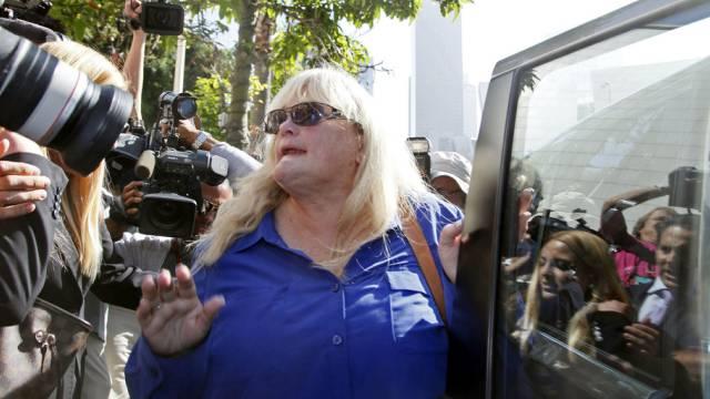 Debbie Rowe, Ex-Frau von Michael Jackson, am Mittwoch in L.A.