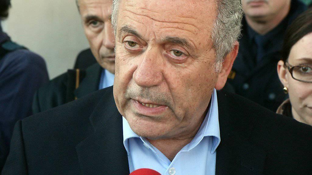 EU-Kommissar Dimitris Avramopoulos will das geplante europäische Anti-Terror-Zentrum am Mittwoch vorstellen. (Archiv)