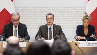 Medienkonferenz des Bundesrats zum Rahmenabkommen (7.6.19)