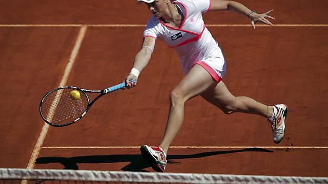 Romina Oprandi steht in Brüssel im Halbfinal