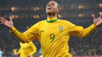 Luis Fabiano besiegte die Elfenbeinküste fast im Alleingang