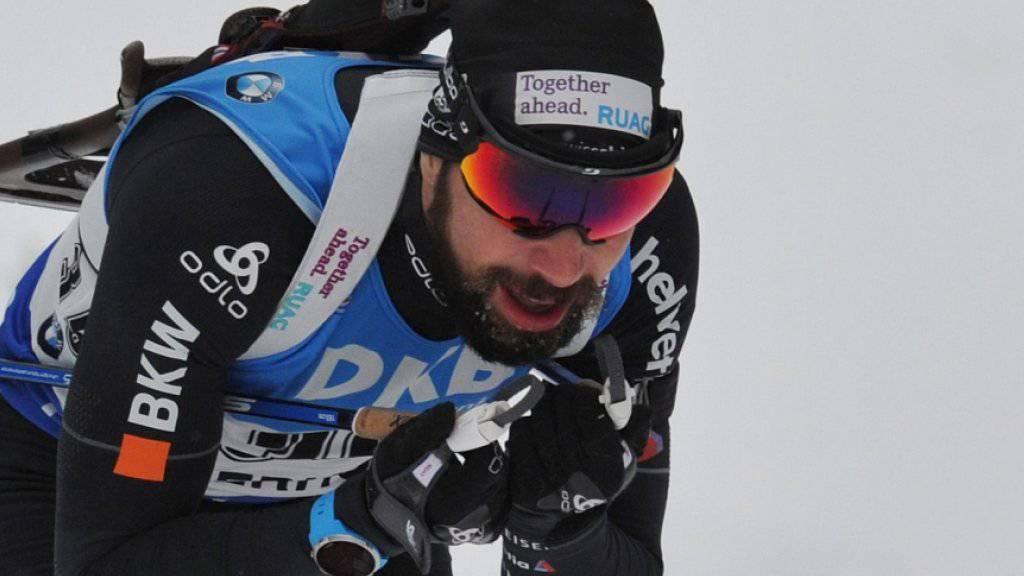 Benjamin Weger erreichte in Oberhof drei Klassierungen unter den ersten elf