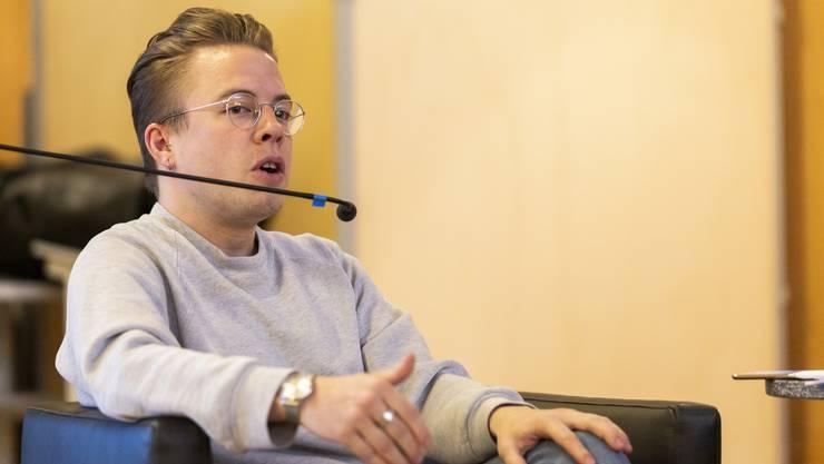 Florian Vock: Der SP-Grossrat wäre bei den Verschärfungen im Waffenrecht gerne noch weiter gegangen.