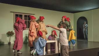 Solothurner Ferienpässler im Theater «Mausefalle»