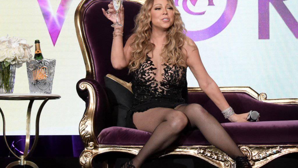 Bei Mariah Carey folgt Gurkenmaske auf Champagner