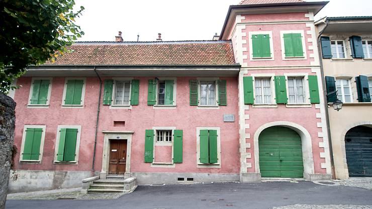 Nur die Schreibstube im Erdgeschoss des Hauses von Charles-Ferdinand Ramuz in Pully VD soll in ein Museum umgewandelt werden. (Archivbild)