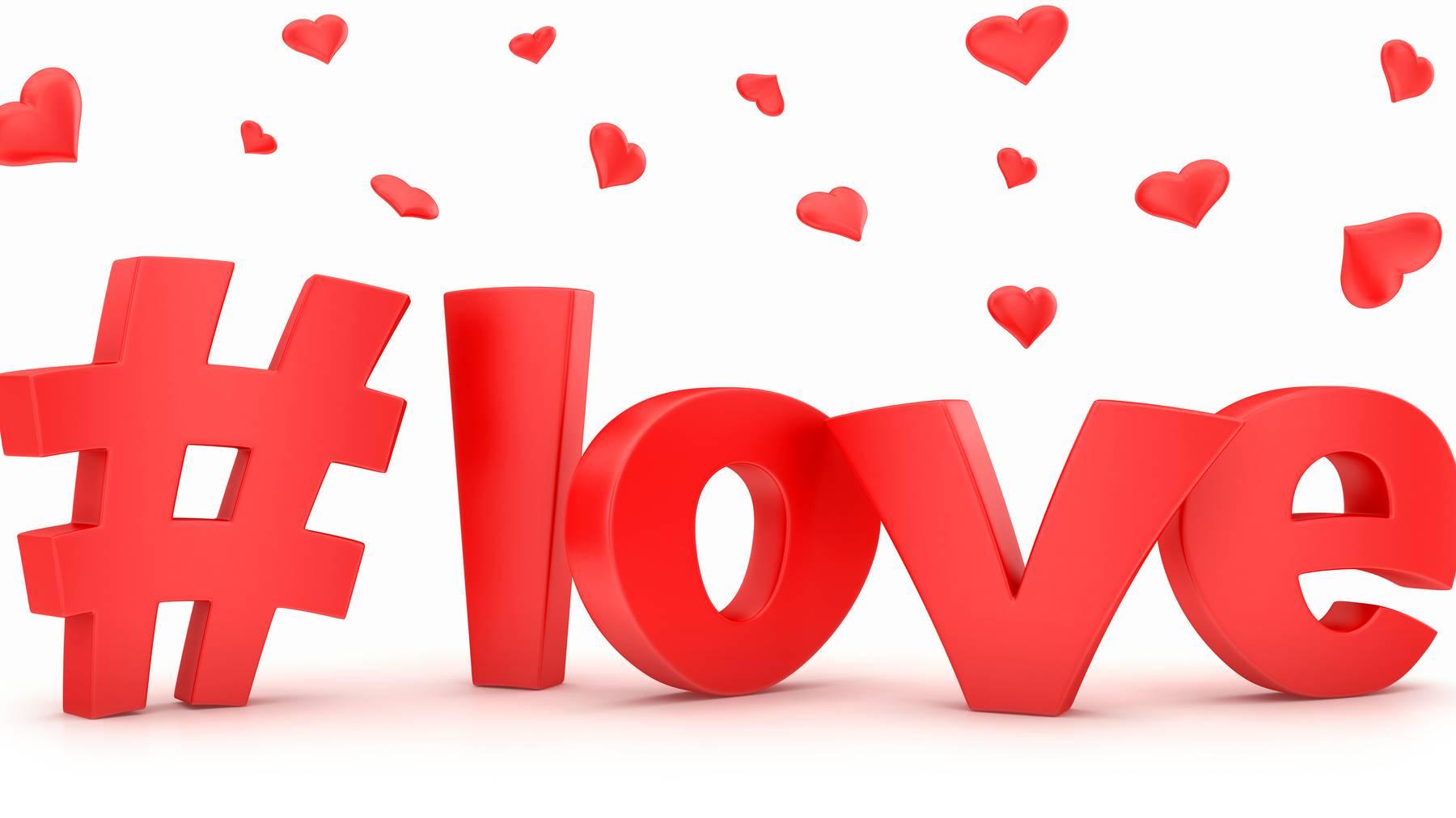 Unter rund 1,9 Milliarden Posts auf Instagram steht der #Love.