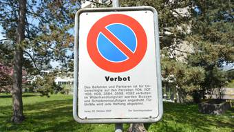 Das richterliche Verbot an der Laurenzenvorstadt 101.