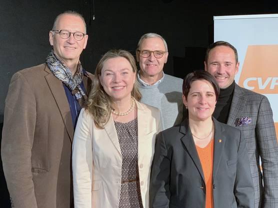 Yvonne Bürgin, Reto Siegrist, René Beck und Ingo Engelmann.