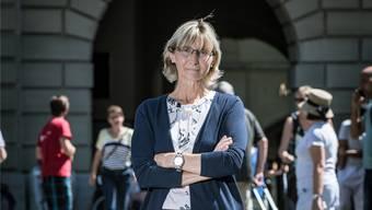Polizeiverbandspräsidentin Johanna Bundi Ryser. Bild: Philippe Rossier