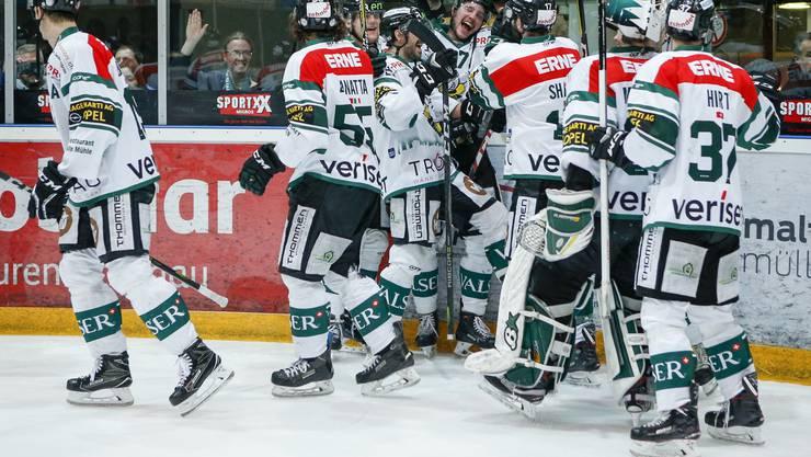 Hürde Thurgau übersprungen: Der EHC Olten zieht in die Playoff-Halbfinals ein