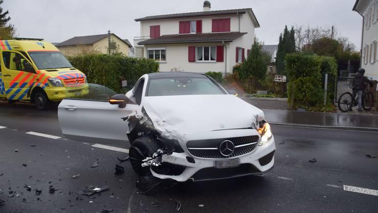 Am Sonntagnachmittag ereignete sich auf der Kriegstettenstrasse in Gerlafingen ein Verkehrsunfall.