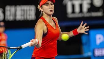 Belinda Bencic startet nach dem Sieg im Hopman Cup auch siegreich in das Turnier in Hobart