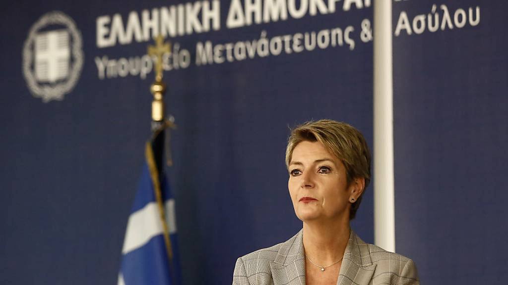 Keller-Sutter sieht wenig Erfolgschancen für europäische Asylreform