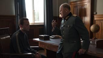 August Diehl als Bauer Franz Jägerstatter und Bruno Ganz als Nazi-Militärrichter Werner Lueben.