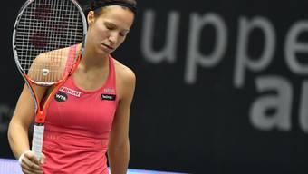 Viktorija Golubic bezieht in Luxemburg eine frühe Niederlage