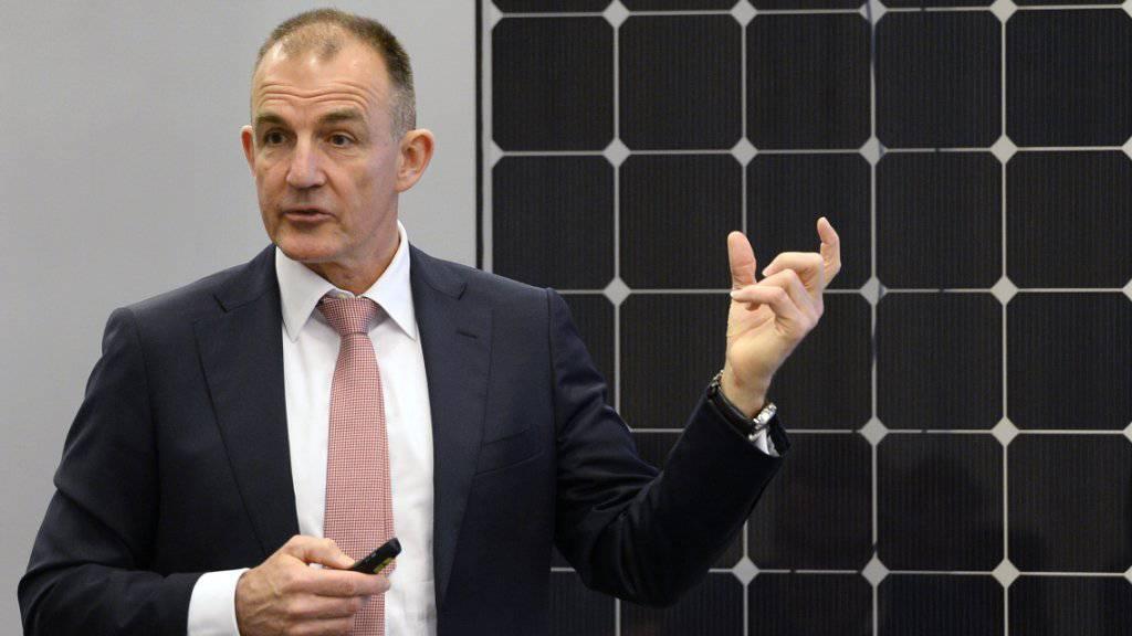 Setzt auf eine steigende Nachfrage nach Solarenergie: Meyer-Burger-Chef Peter Pauli. (Archiv)