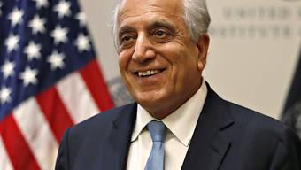 Der US-Sonderbeauftragte für Afghanistan, Zalmay Khalilzad, hält sich zurzeit in Kabul auf. Er will in der kommenden Woche zu einer neuen Gesprächsrunde mit den Taliban in die katarische Hauptstadt Doha reisen. (Archivbild)