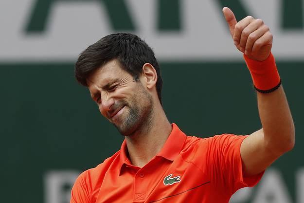 Auch Novak Djokovic darf sich freuen: Er führt die Setzliste in Wimbledon an, obwohl er zuvor kein Turnier auf Rasen bestritten hat.