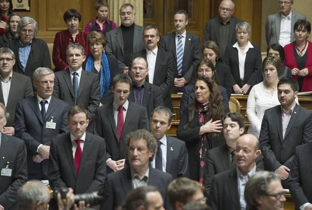 SP-Fraktion leistet das Gelübde auf die Verfassung