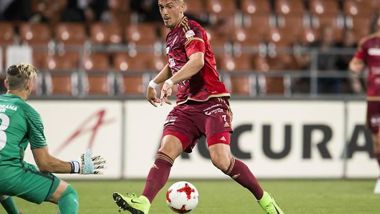 Albion Avdijaj spielte letzte Saison für Vaduz