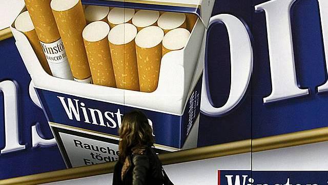 Tabakwerbung: im Tessin bald verboten