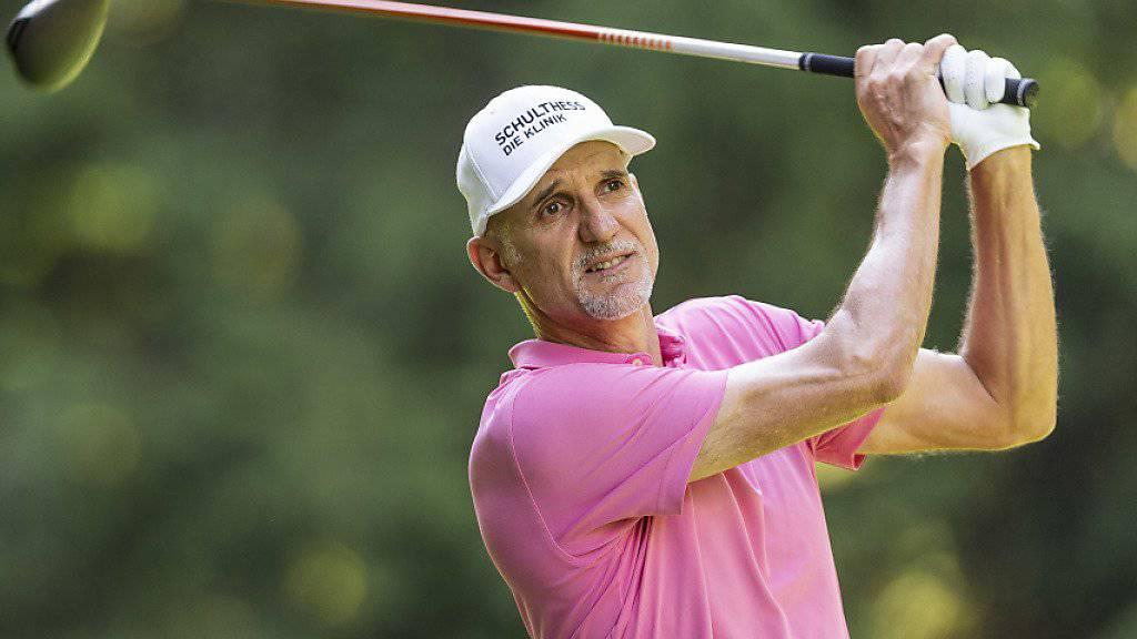 Andre Bossert zeigt nach wie vor präzises Golf auf bestem Niveau