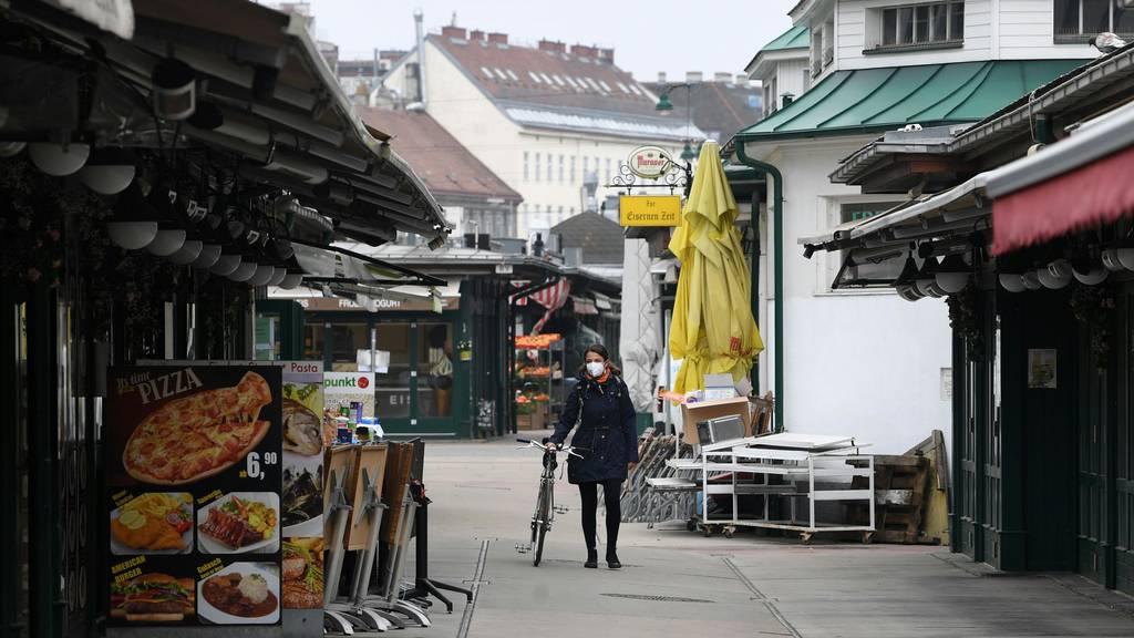 Lockdown im Osten Österreichs wird verlängert