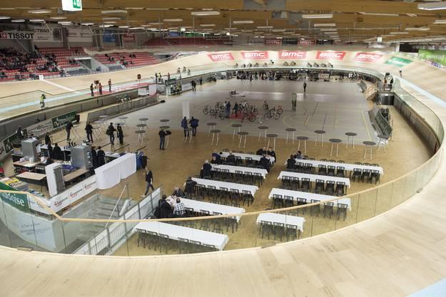 Die Schweizer Meisterschaft Ominium, am Donnerstag 29. Januar.